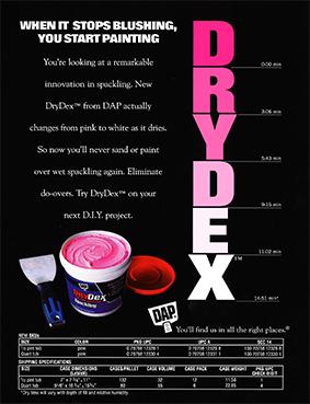 Anuncio impreso de DRYDEX de 1998