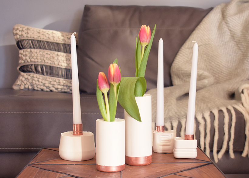 Vases Candle Holders Horizontal