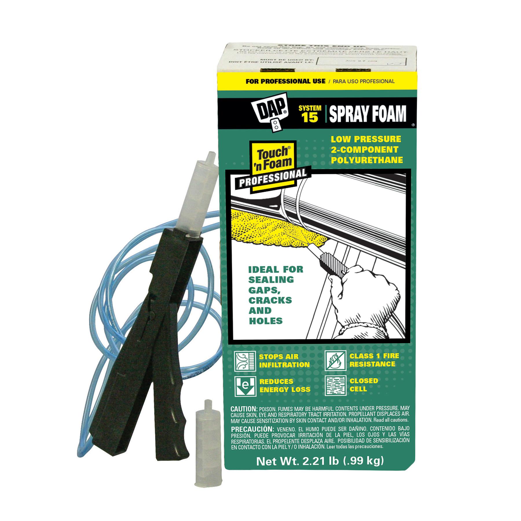 Touch N Foam System 15 Spray Foam Insulation Kit